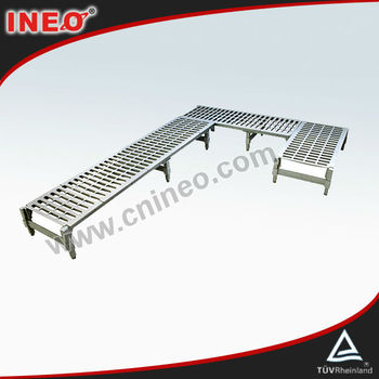 Heavy Duty Heaver Dunnage Rack For Dry Storage Warehouse In Restaurant Or Hotel