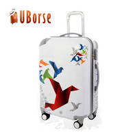 Cheap ABS PC Colorful Travel Luggage