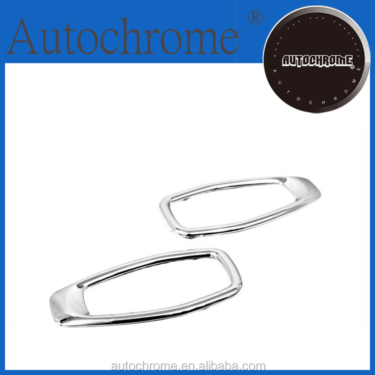 Factory price car auto exterior accessories, chrome side marker light trim for Hyundai Tucson