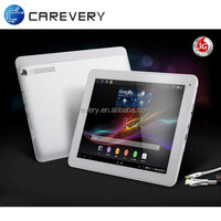 9.7 inch android tablet with 3G sim card slot, bluetooth gps wifi tablet pc quad core IPS screen 16gb tablet