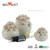 BSCI SEDEX Audit Fashionable Wedding Favor Ceramic Aroma Reed Diffuser For Decoration