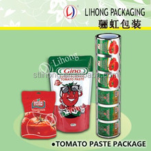 Custom Shape Plastic Food Packaging Names Different Types Bags For Tomato Sauce