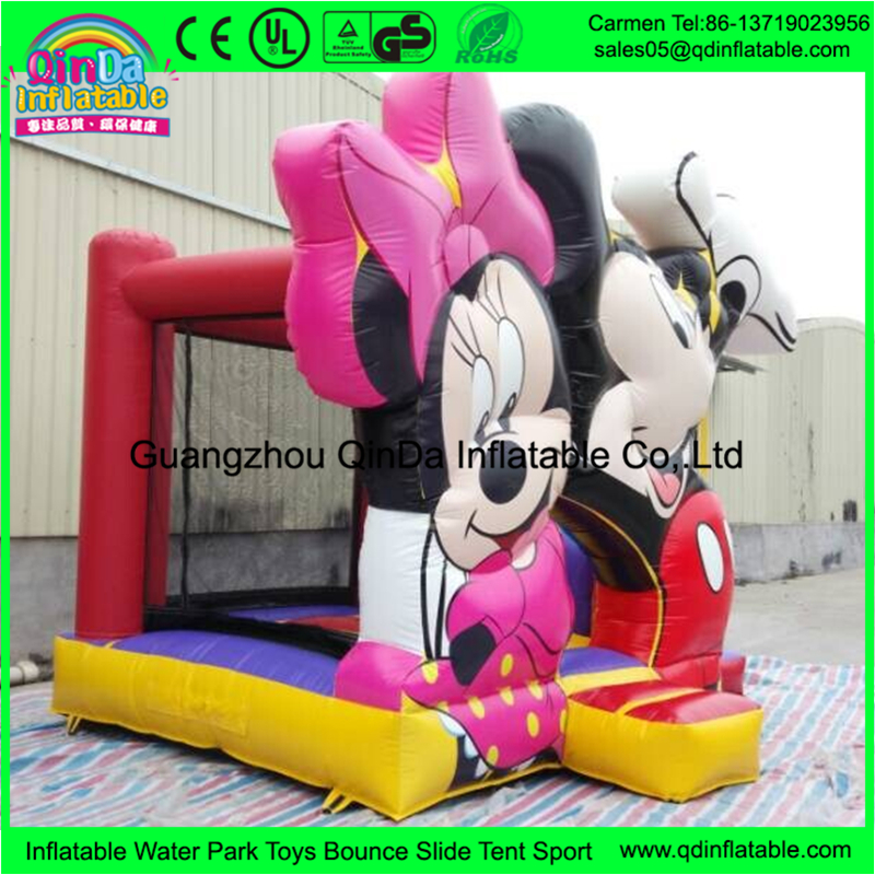 One of the best selling toys for kids in America inflatable castle mickey mouse bounce house board for adult and kid