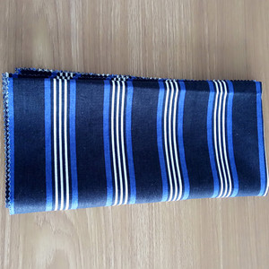 fashion/stripe/ brown/linen/cotton fabric