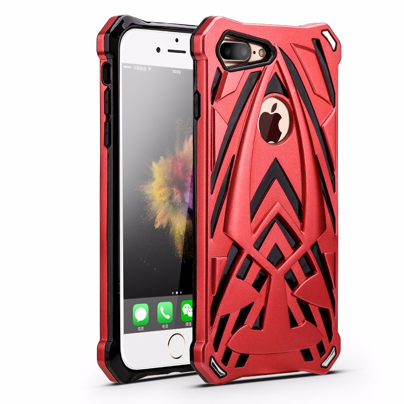 2017 Best Selling !New fashion Shock Resistant Robot Mobile Phone Cover Cases For iPhone 7Plus