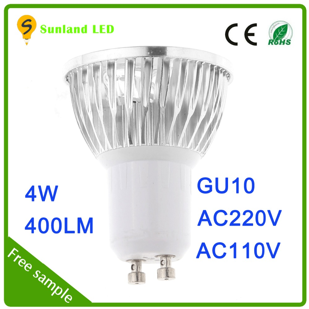 Factory price products 400lm 4x1w Gu10 led spot light led spotlight bulk led chrismas lights