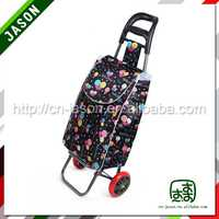 folding shopping trolley bag horse cart toy