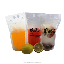 Food Grade Fda Approved Laminated Material Plastic Customized Top Drink Packaging Pouch Bag