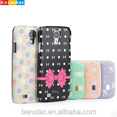 Beautiful flower butterfly phone case for girls oem samsung s4 i9500 back cover