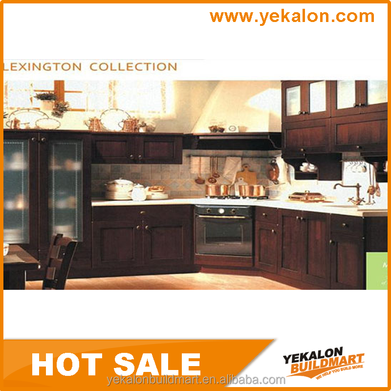Yekalon 2015 hot sale ghana prefab lacquer kitchen cabinet