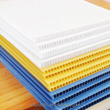 colored corrugated cardboard sheets/plastic panels board