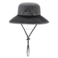 2015 Functional Outdoor Unisex Sun Cap Fisherman Hat Bucket Hats