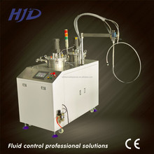 Two component silicone AB glue mixing and potting machine