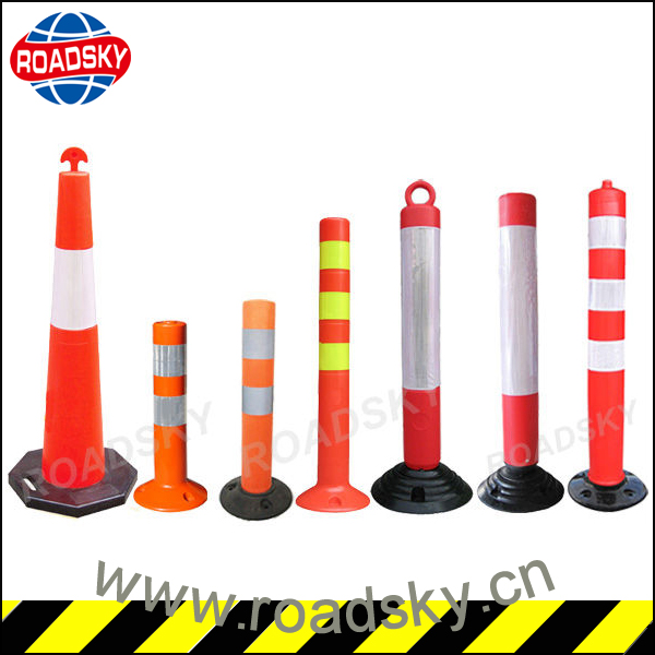 Reflective Rubber Parking Car Bollards