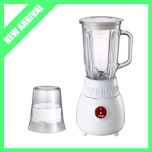 New Arrival 2 in 1 Electric blender juicer 1L Glass Jar with Mill