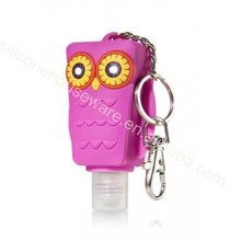 Wholesale new design animal silicone hhand sanitizer holder for wholesales
