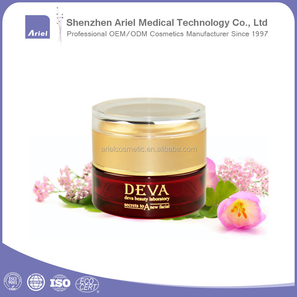 Classical ingredient pearl powder moisturizing whitening face cream