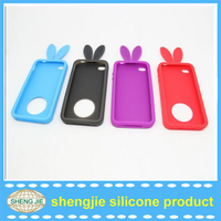 Custom rubber mobile silicone cell phone cover from China