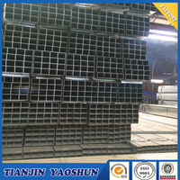 BS1387 75*25 /25*50/40*80/50*100 PRE GALVANIZED STEEL PIPE/HOLLOW SECTION