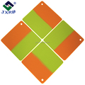 mix two color square honey pad food grade silicone insulation pad high temperature non - slip bowl pad mat protection