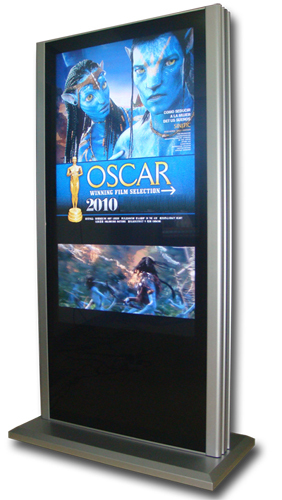 42-65 inches OEM & ODM Kiosk Digital Floor Standing Lcd Advertising Player