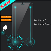 Ultra Thin 9H 2.5D HD Clear Mobile Phone Smart Touch Tempered Glass Screen protector for iPhone 6