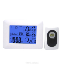 Durable thermo hygrometer Weather Station wifi with alarm/ Wireless Weather station alarm clock