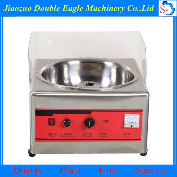 Industrial tabletop electric cotton candy floss maker machine for sale