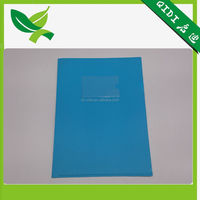 A4 clear file bag with zipper expanding file folder