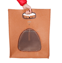 3 in 1 Functional Felt Cat Bed Carrier Wholesale Foldable Pet Carrier