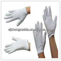 white parade military uniform ceremony cotton gloves