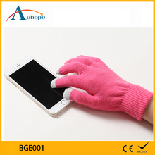 Cute Music Bluetooth Touch Screen Gloves Warm Winter Knitting Gloves For Smart Phone