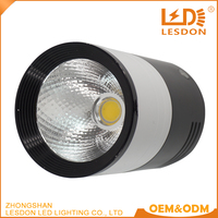 high lumen aluminum housing 5w 10w 20w dimmable square cob led downlight
