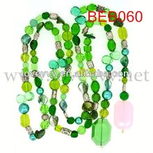 stock wholesale handicraft stone necklace