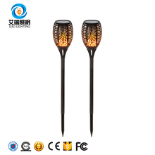 Brand-New Waterproof 0.88W Led Fake Fire Silk Flame Torch Light For Garden Pathways Yard