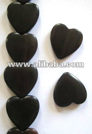 Kamagong Wood Beads (Tiger Ebony Wood)