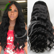 Grade 8A Brazilian Virgin Real Human Hair Lace Front Wigs Body Wave Full Lace Wig with Baby Hair for Black Women