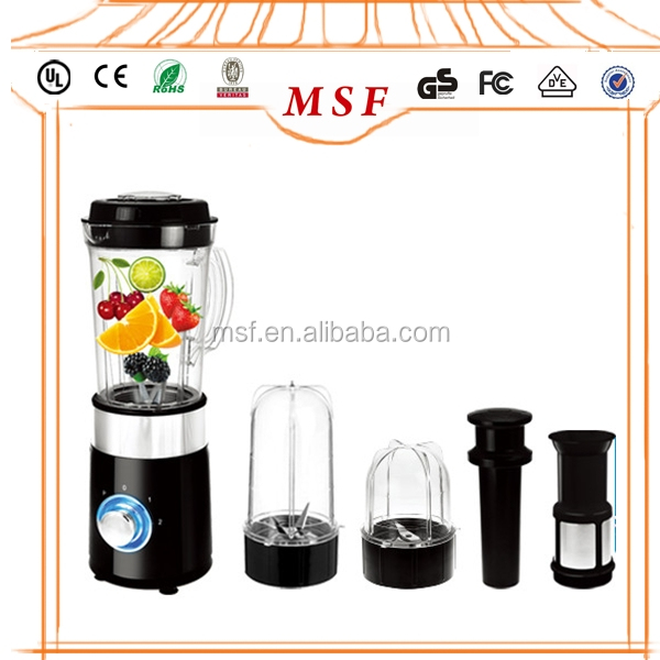 4 in 1bean mill smoothie maker food chopper bottle blender