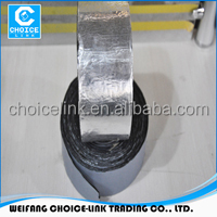 HOT SALES Self-adhesive bitumen flashing tape/flash band with 1.5mm thickness