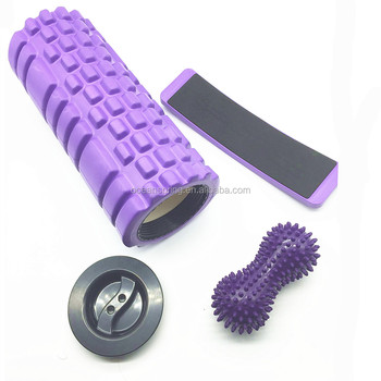 3 in 1 foam roller sets / Ballet Turn Board / 14.5cm Peanut Massage Ball