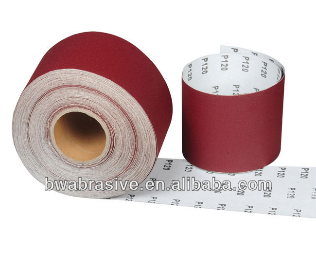 abrasive jumbo rolls for conversion