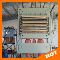 high quality hot press machine for the plywood /plywood machine for sale