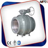 Carbon Steel Stainless Steel Metal Seated Ball Valve
