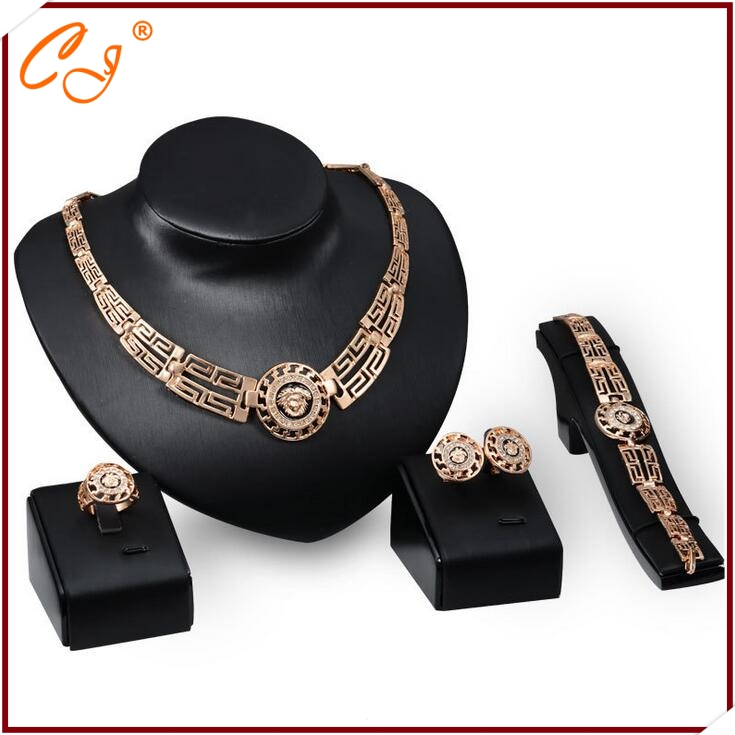 Promotional GIft in Cute Jewelry Yiwu Cute Jewelry <strong>18</strong> <strong>K</strong> Fashion Women Jewelry Set Distribution Fashion Jewelry Desgin