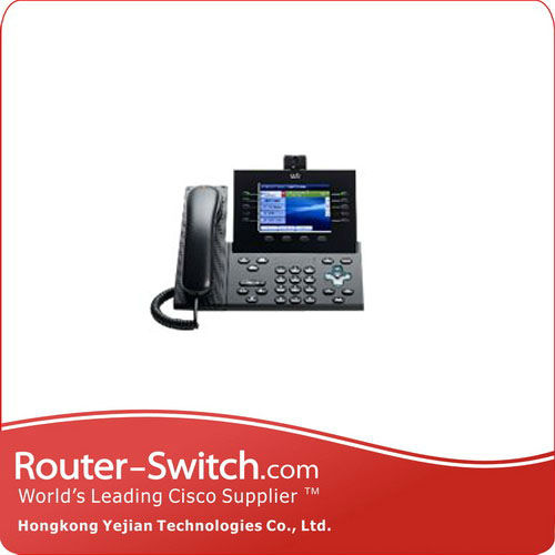 Cisco Unified IP Phone 8961 Slimline - Video Phone CP-8945-A-K9=