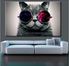 No Framed Animals Cute Cat Modern DIY Painting By Numbers Unique Gift Home Decor Canvas Painting For Living Room Decoration