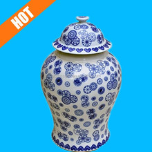 Asian Chinese Traditional Blue & White Decorative Ginger Jars for Sale