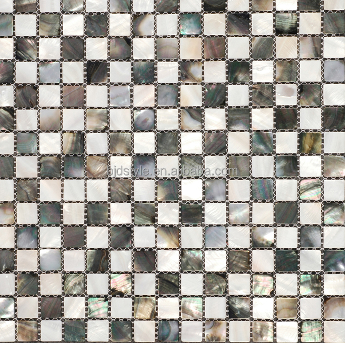 Multi types served Mother Of Pearl Shell Mosaic Floor Tile