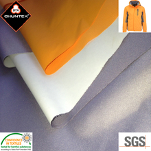 PU Laminated Waterproof Breathable polyester pongee Sports clothing Fabric
