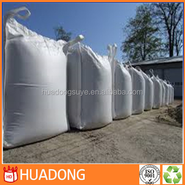 1 ton FIBC jumbo big bulk container pp bag shandong manufacture for building material